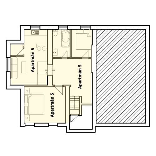 Villa Centrum - IZBA číslo 05